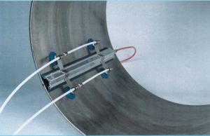 Накладка подачи газа для прямолинейного стыкового шва